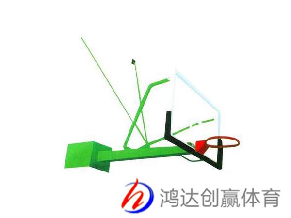 悬臂篮球架