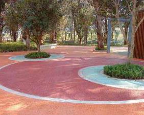 贵州彩色沥青透水混凝土施工