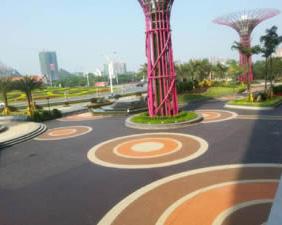 贵州海绵城市透水地坪