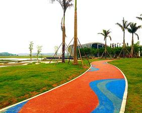 贵州彩色透水地坪