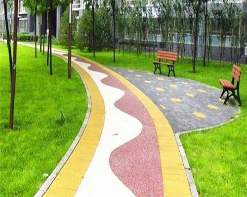 贵州彩色透水混凝土地坪