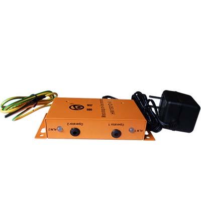 双工位铝壳静电环报警器