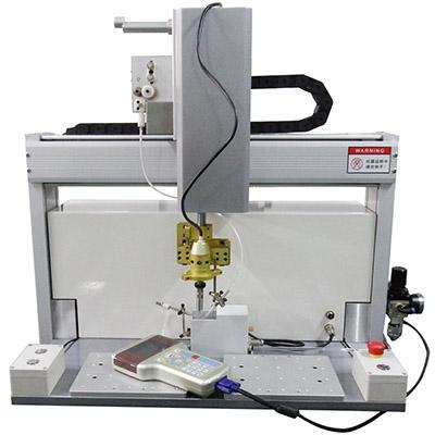 两轴自动焊锡机