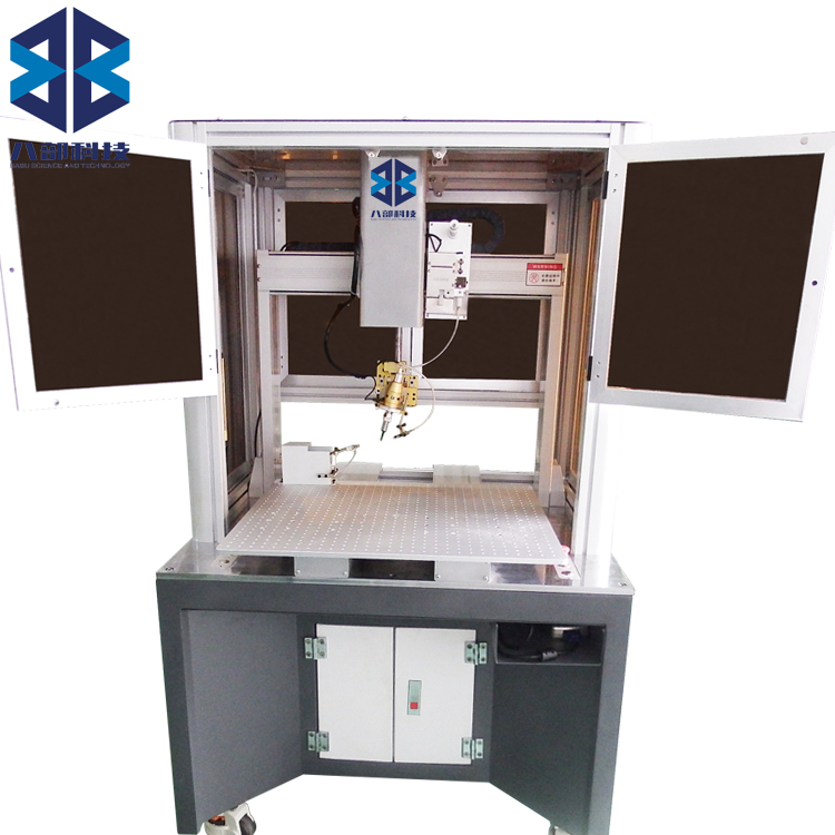 HW-HT烙铁可旋转柜式焊锡机