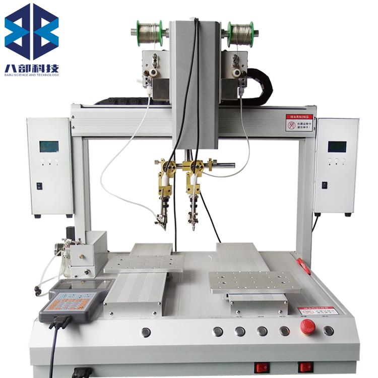 八部厂家供应双Y双头全自动焊锡机器人