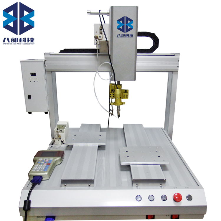 5441R双平台单烙铁自动焊锡锡机