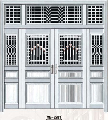 恩施仿铜色铝合金艺术门系列 价格