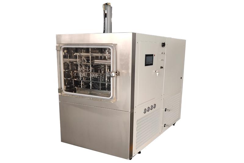 SCIENTZ-100F压盖硅油型冷冻干燥机