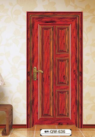 豪华艺术门