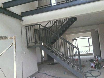 沧州钢结构楼梯制作