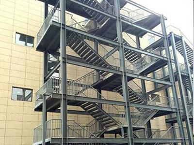 沧州石家庄钢架楼梯