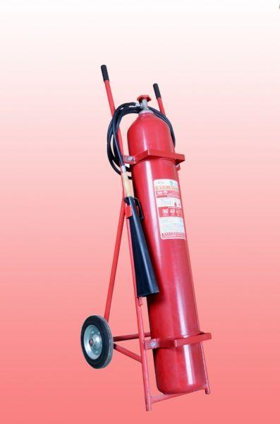 安顺推车式二氧化碳灭火器