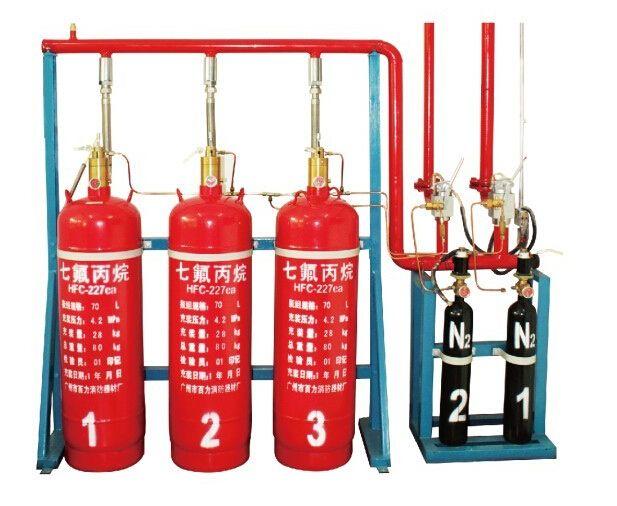 七氟丙烷自动灭火装置
