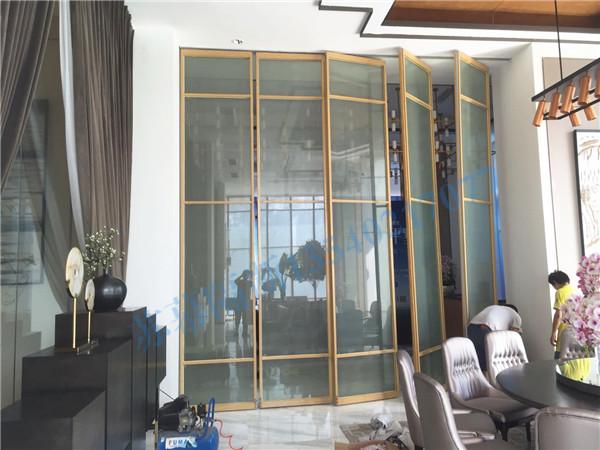 玻璃隔断安装
