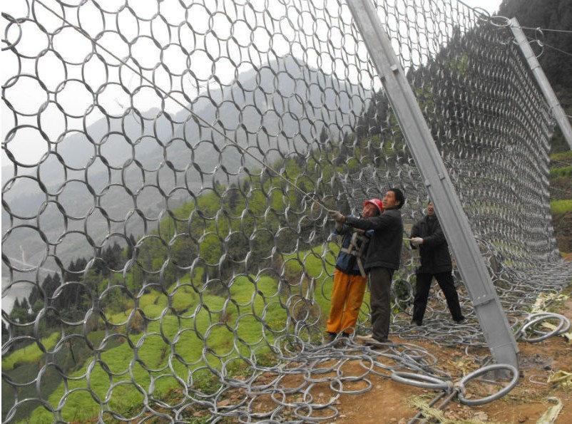 四川环形边坡防护网