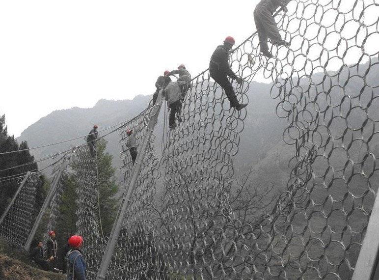 成都环形边坡防护网
