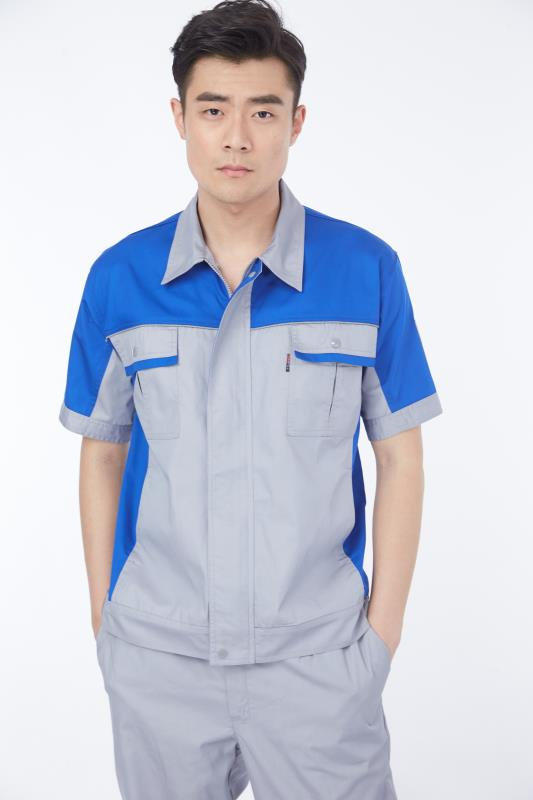 蓝领职业装