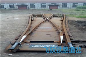 铁路对称道岔