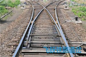 铁路道岔生产