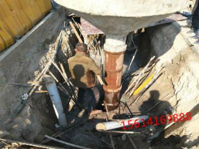 青岛地下管道钻孔穿管