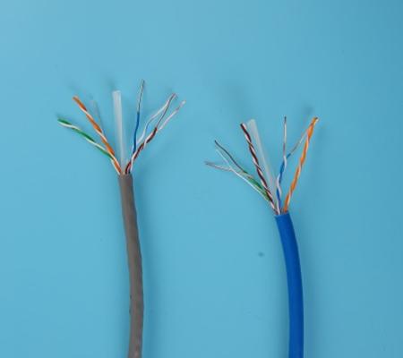 彩色超五类网线