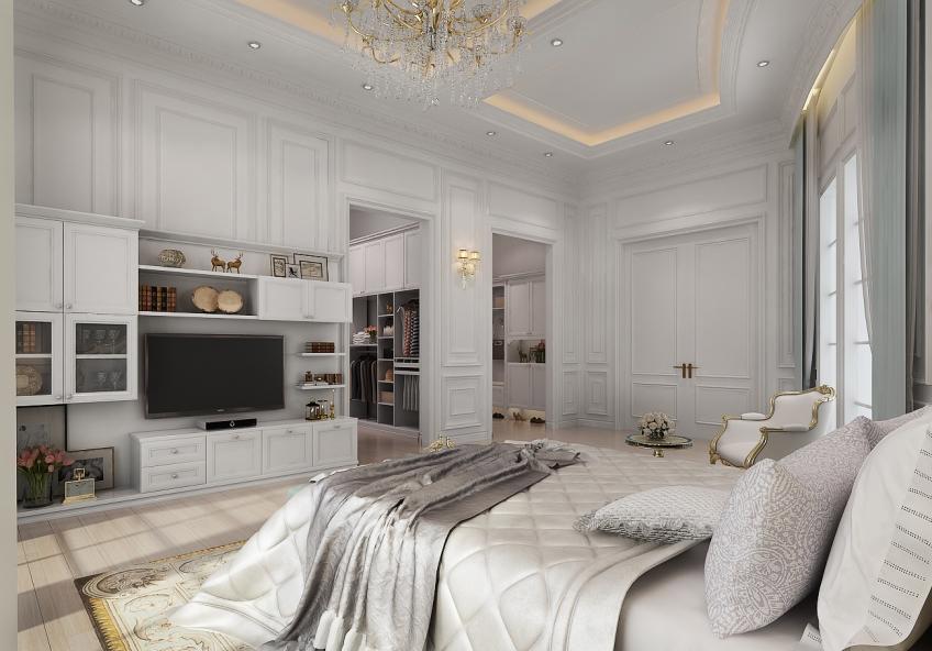 简欧风格卧室家具
