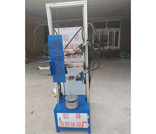 新型螺杆止水自動焊接專機