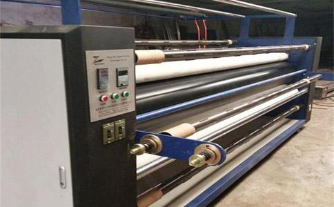 北京無色差皮革數碼滾筒式轉印機
