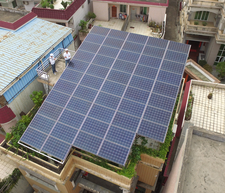 中山光伏太阳能发电