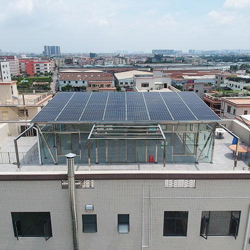 太阳能发电安装