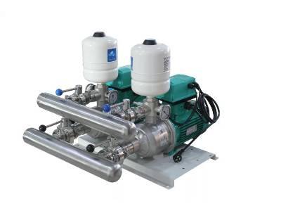 双泵交互联动双变频泵组
