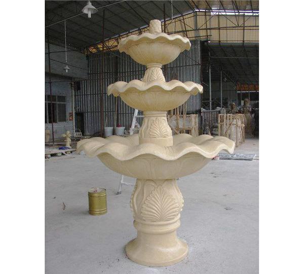 贵州砂岩花钵雕塑