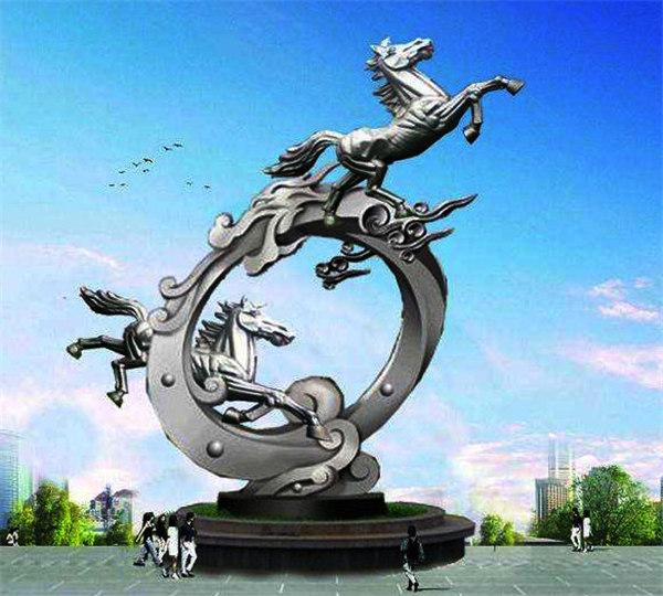 黔东南不锈钢雕塑