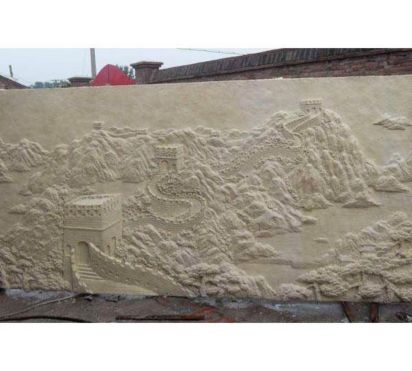 �P�Y砂岩浮雕