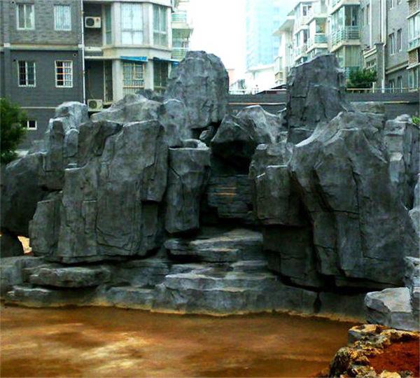 假山��g雕塑
