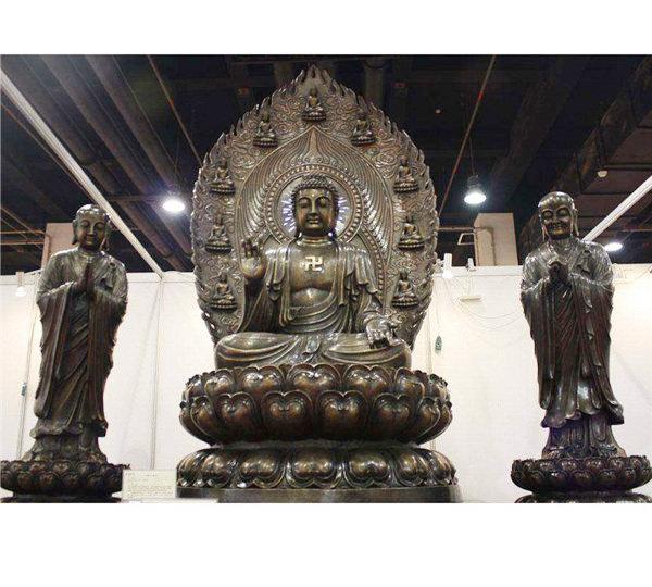 贵州铜雕佛像