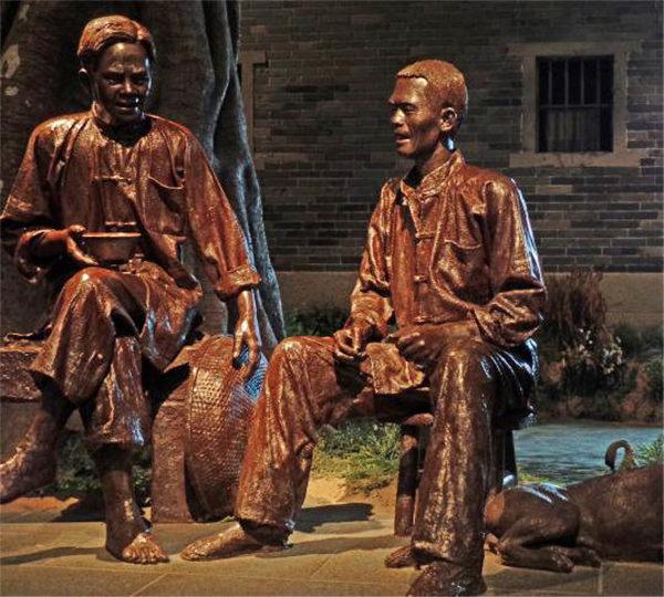 贵州人物铜雕