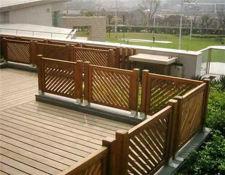贵州防腐木栏杆