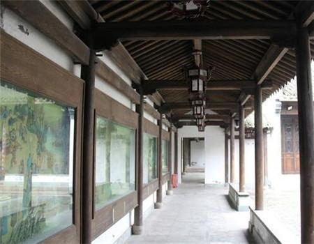 貴陽防腐木長廊