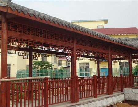 貴州防腐木長廊