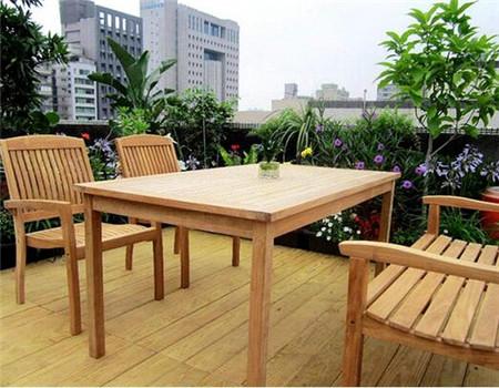 貴陽防腐木桌椅