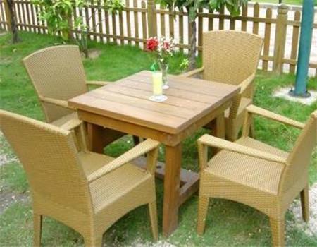 贵州防腐木桌椅