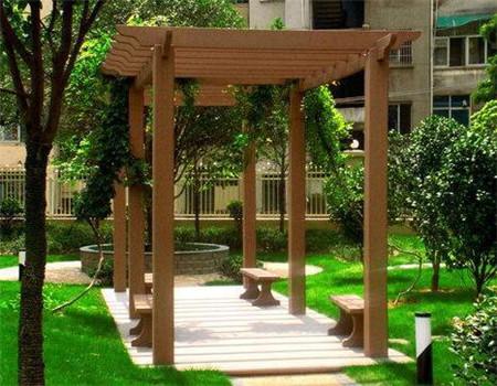 貴陽防腐木廊架