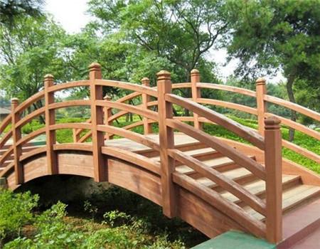 防腐木景观桥