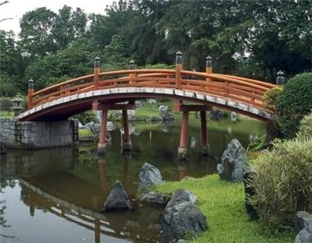 防腐木木橋
