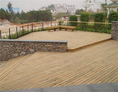 贵州防腐木地板安装