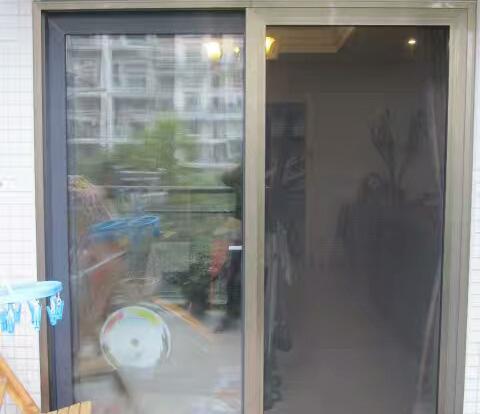防盗纱门窗安装