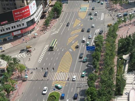 贵州交通划线