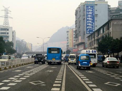 贵州公路标识线
