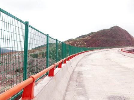 贵州公路浸塑围栏网